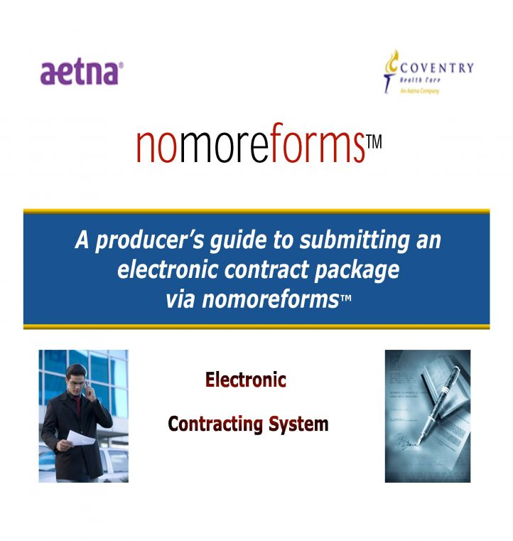 Aetna Contracting Producer Guide for New Agents - revised 6 6 16_Page_01
